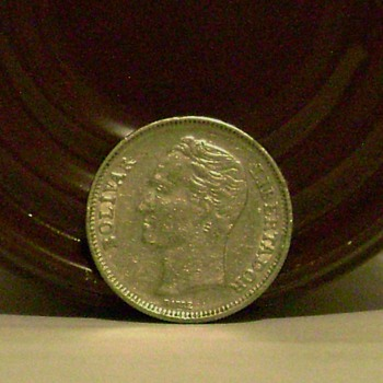 Republica De Venezuela Coin - World Coins