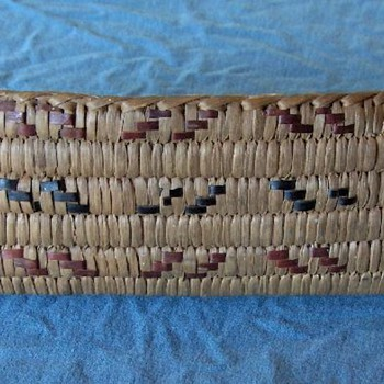 canoe and boat-shaped woven baskets, Salish, c. 1930