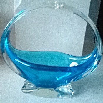 Blue Glass ! - Glassware
