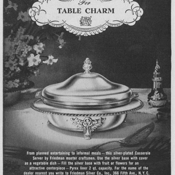 1950 Friedman Silver Advertisements