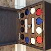 Oak Poker Chip Box