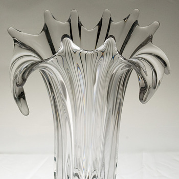#6 Tall Vase Unknown Maker - Art Glass