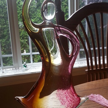 Please help to identify this Art Glass Dancer Sculpture  - Art Glass