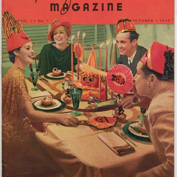 1935 - Recipe of the Month Magazine - October - Books