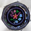 1998 Whitefriars Caithness Glass Rosette Fleming Hyacinth Bouquet Paperweight