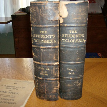 "TWO VOLUME  ""CYCLOPEDIA"" FROM THE LATE 1800's"