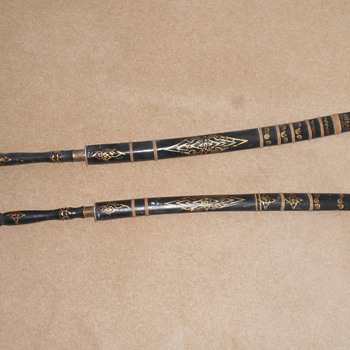 samurai swords.