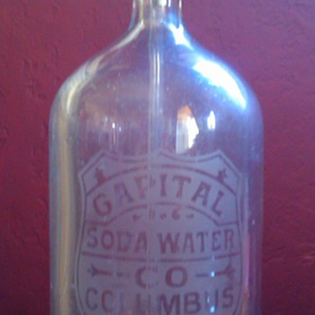 Captial Soda Water Company - Seltzer Bottle - Bottles