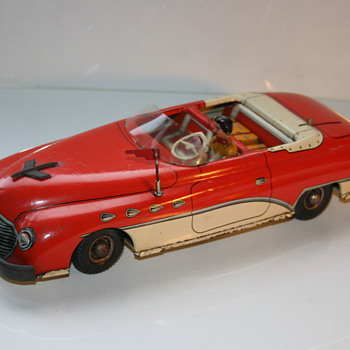 joustra deauville convertible electric tin toy - Toys