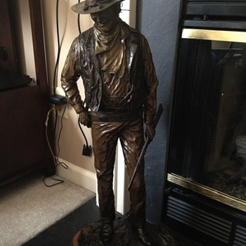 John Wayne statue bronze ( 38/250)