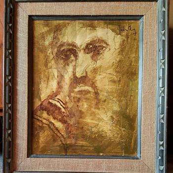 Mid Century Modern Painting/still reseaching