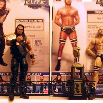 New Additions to my wrestling figures - Toys