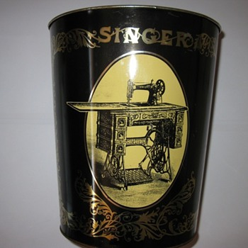 singer sewing machine bucket