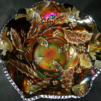 Millersburg Radium Carnival Glass