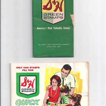 """ GREEN STAMP BOOK"" - Advertising"
