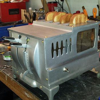 Waters-Genter 1-D-1 Commercial Toaster (Toastmaster), refurbished