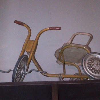 Childhood tricycle
