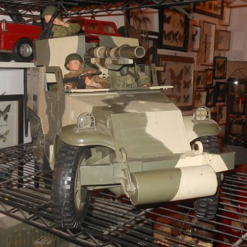 GI Joe Half Track with Crew