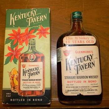1917 Kentucky Tavern Bourbon Whiskey - Bottles