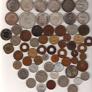collection of a few rare coins - World Coins