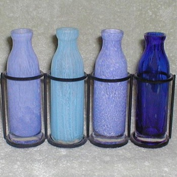 Mystery Blue bottles set  - Bottles