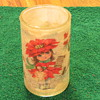 38 Danish TM CCA written on bottom Christmas Theme Candle holder