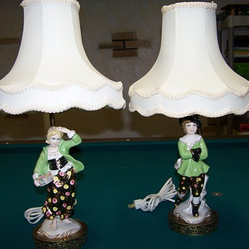 Leviton Figurine Lamp could any tell me more about them? - Lamps