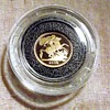 2009-22ct quarter gold sovereign-case-box-coa.