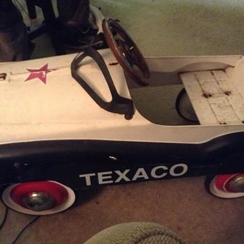 Texaco Pedal Car