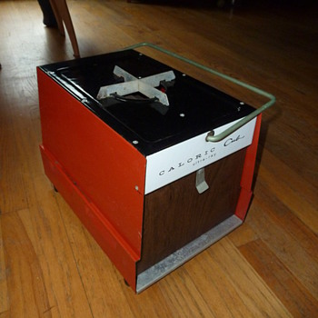 Vintage CALORIC Cub portable ultra-ray broiler