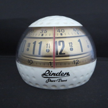Golf Ball Rotary Alarm Clock - Clocks