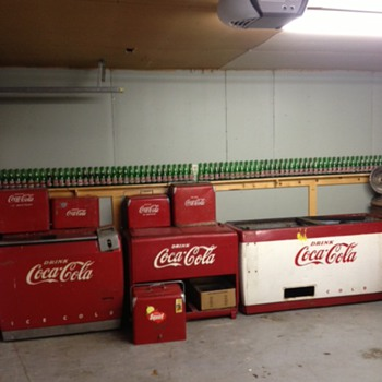 Coca Cola Ice Chests
