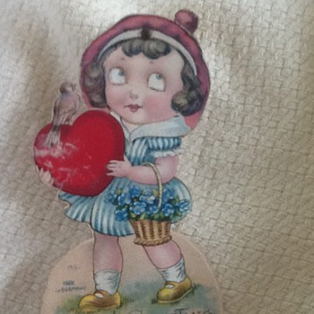Vintage Valentine Made in Germany - Cards