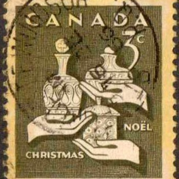 "1965 - Canada ""Christmas"" Postage Stamps - Stamps"