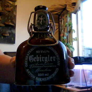 gebirgler bottle