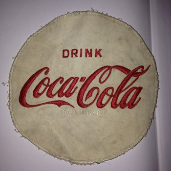 Coca-Cola Employee Shirt Patch