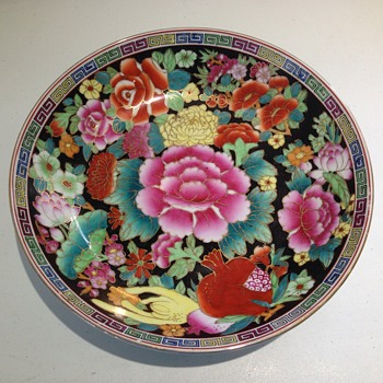 Can anyone speak Chinese?I would love some help to identify my floral bowl!thank you - Asian