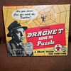 1955 DRAGNET PUZZLE GAME