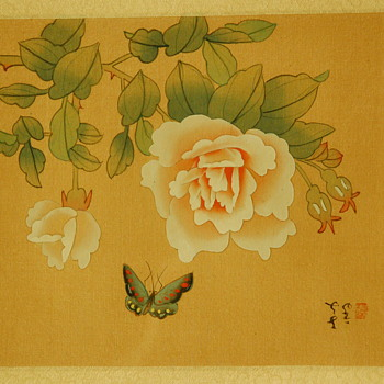 Asian Painting on Silk