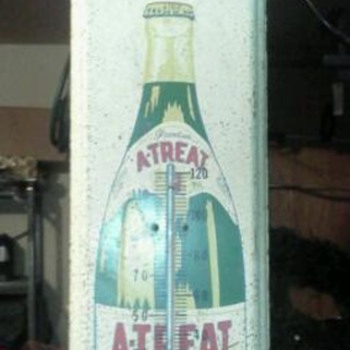 Atreat thermometer Sign - Advertising