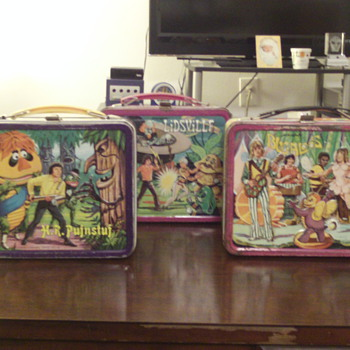 Sid and Marty Krofft Lunchbox Collection. - Kitchen