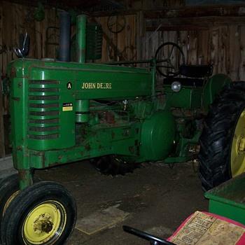 Our 1950 John Deere A