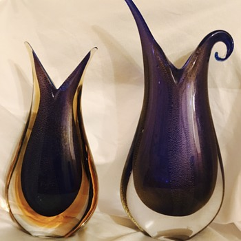Vintage Murano Sommerso 4 times this week! - Art Glass