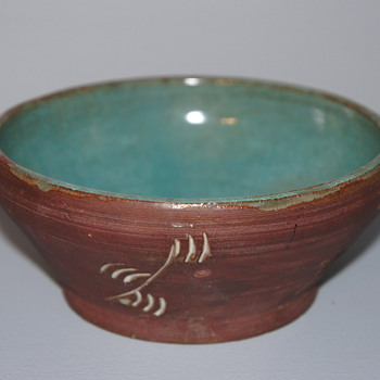 Mystery American or Canadian Bowl - Art Pottery