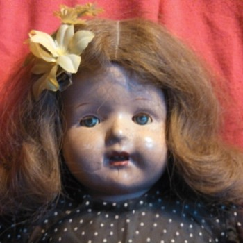 I need help again...unmarked compo doll - Dolls