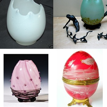 Czech glass Easter - Art Glass