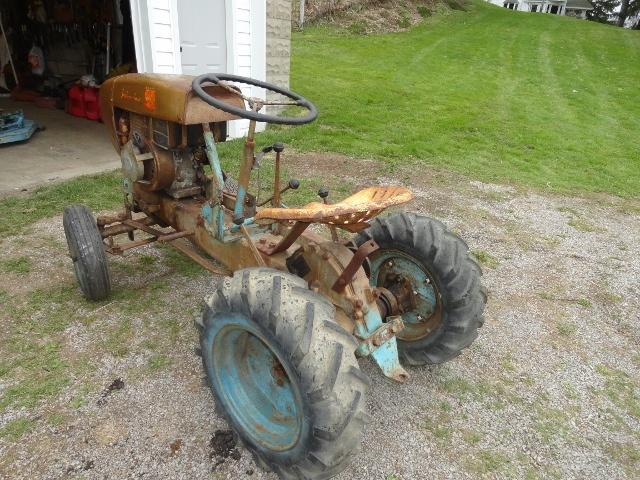 1959 Sears David Bradley 4 Wheel Lawn Garden Suburban Tractor Collectors Weekly