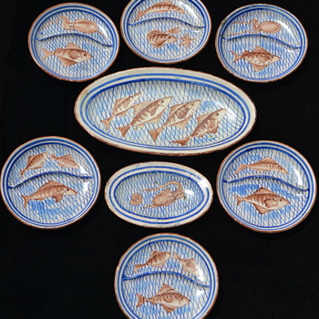 Catch of the Day - Musa, Vietri sul Mare, Italy - Pottery