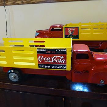 "1950's Wyandotte ""Coca-Cola"" Truck - Coca-Cola"