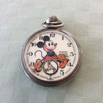 Irresistible Bearded Mickey - Pocket Watches